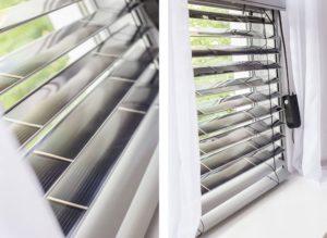 Вікно, обладнане українськими «сонячними» жалюзями, може виробити до 100 кВт•год енергії на місяць